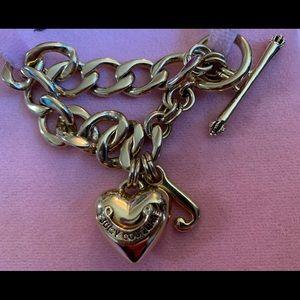 Juicy Couture toggle bracelet.